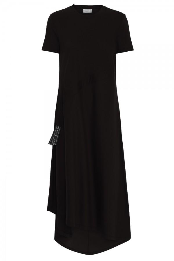 blanche cph draw dress black